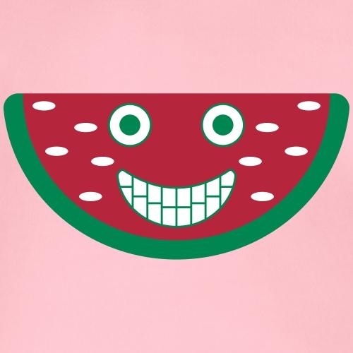 Melone mit Gesicht