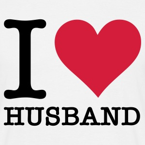 Blanco I Love My Husband (2c, NEU) Camisetas - Camiseta hombre