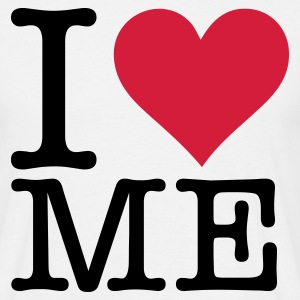 Wit I Love Me (2c, NEU) T-shirts - Mannen T-shirt