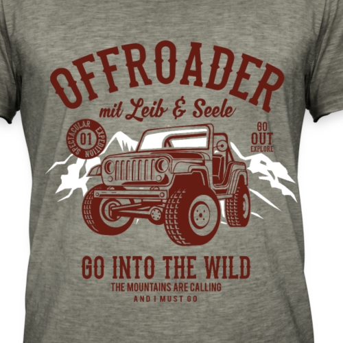 Offroad Fahrer - rot
