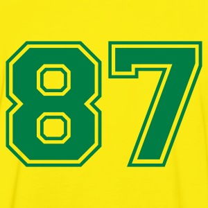 Yellow/green 87 Men's T-Shirts - Men's Ringer Shirt
