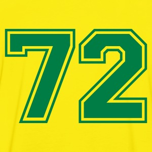 Yellow/green 72 Men's T-Shirts - Men's Ringer Shirt