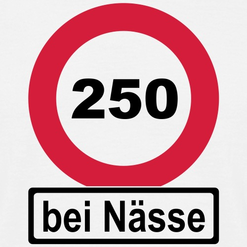 250 bei Nässe (zweifarbig)