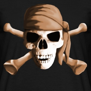 dead_pirate_sepia T-shirts - Herre-T-shirt
