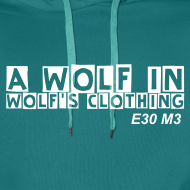 Design ~ wolfs clothing & domain on back