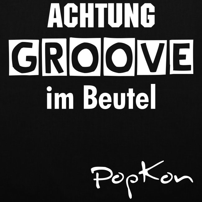 Groove-Beutel schwarz