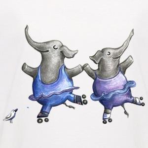 Rollschuh Elefantentanz