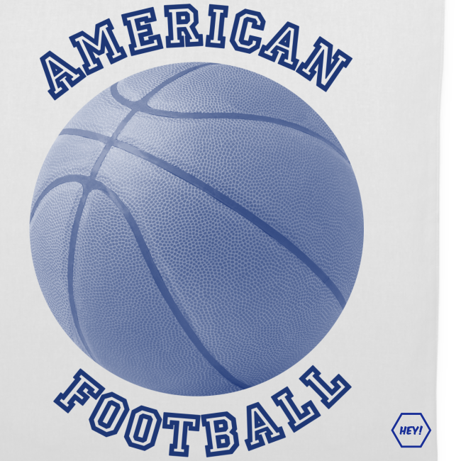 American Football Tote Bag