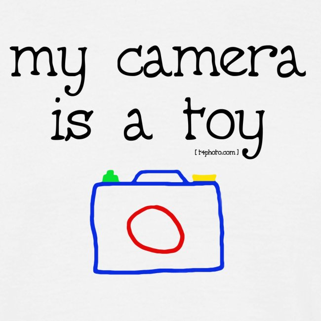 My camera is a toy