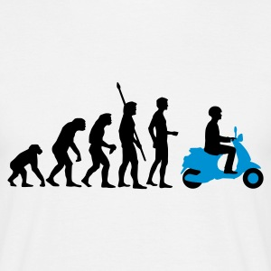 evolution__2c T-shirts - Mannen T-shirt