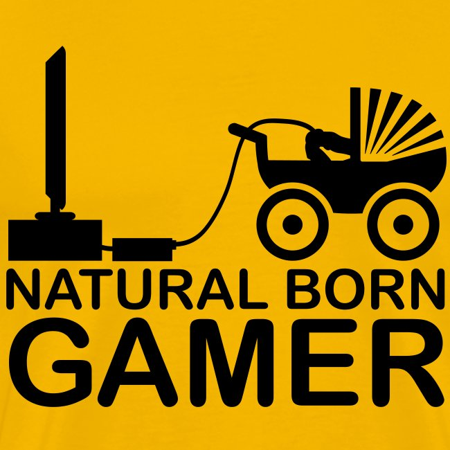 T-shirt Natural Born Gamer
