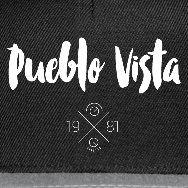 Cap // Pueblo Vista // Logo 19X81