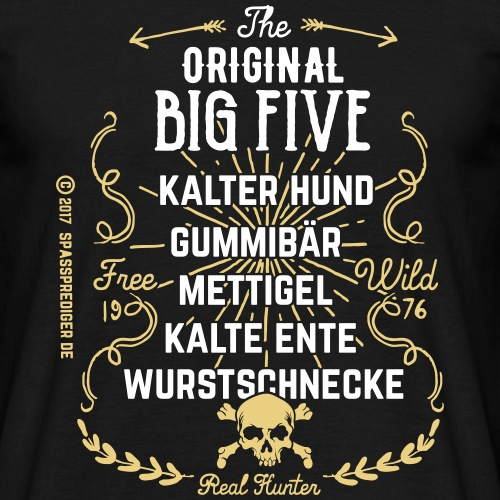 The Original Big Five 23092017