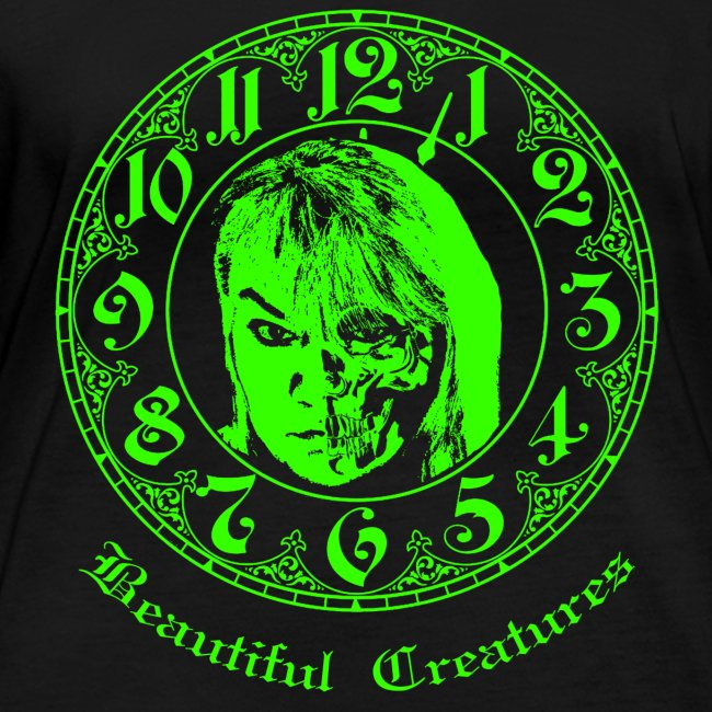 Beautiful Creatures | green - Langarm Shirt