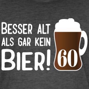 """Geburtstag T-Shirts mit """"Alt Bier 60 Geburtstag"""""""