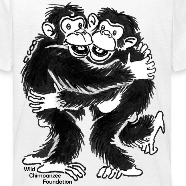 Chimpanzees Kid's Classic T-Shirt
