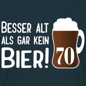 """Geburtstag T-Shirts mit """"Alt Bier 70 Geburtstag"""""""