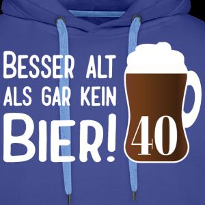"""Geburtstag T-Shirts mit """"Alt Bier 40 Geburtstag"""""""
