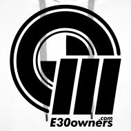 Design ~ Logo & Domain on Front & Domain on Back White