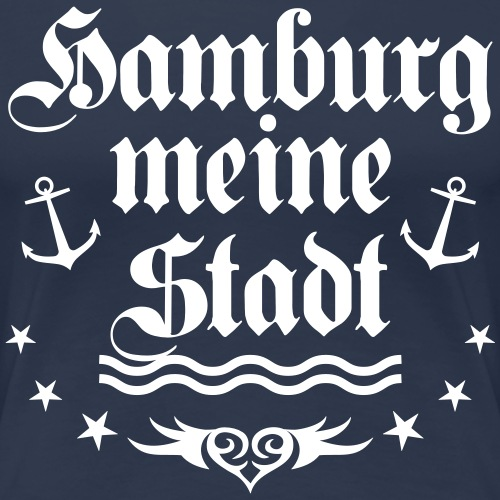 Hamburg meine Stadt Herz Love Anker Tattoo Welle