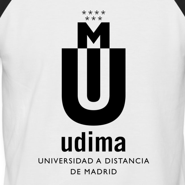 Camiseta béisbol manga corta hombre- UDIMA