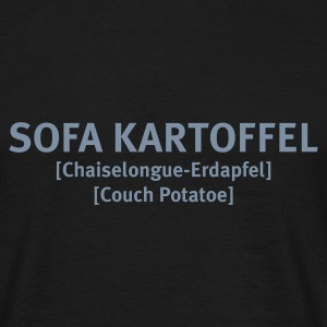 Sofa Kartoffel - Men's T-Shirt