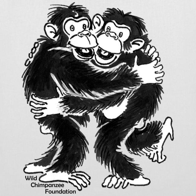 Chimpanzees Tote Bag
