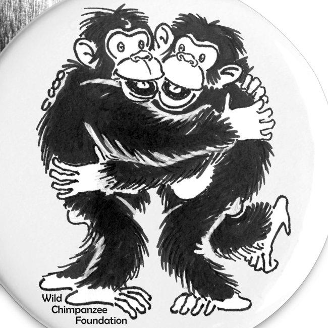 Chimpanzees Buttons