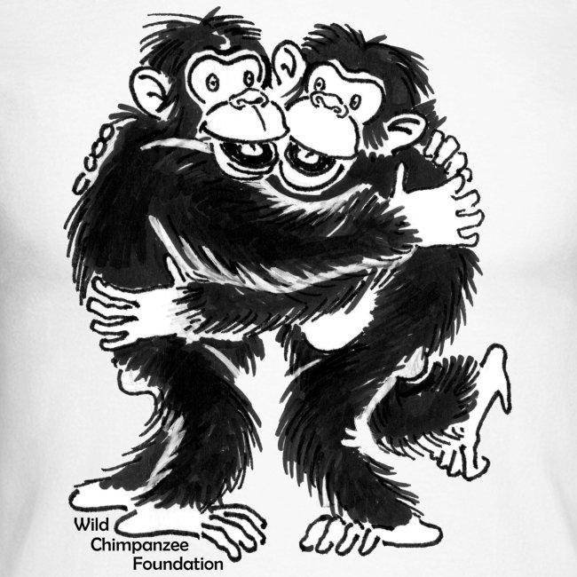 Chimpanzees Men's Raglan Long Sleeve