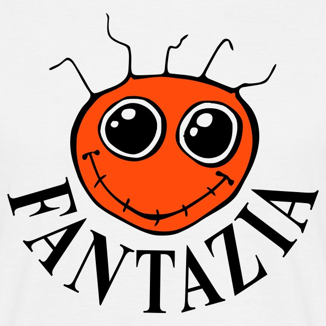 Fantazia Smiley Front Dancing Man Reverse