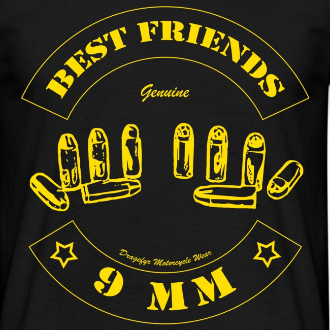 Best Friends | Gelb - T-Shirt