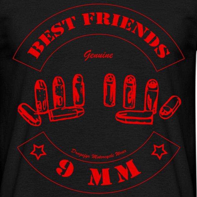 Best Friends | Red - T-Shirt