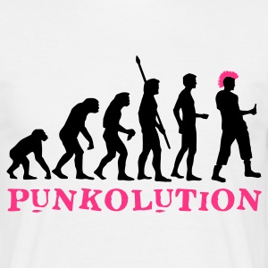 evolution_punk_2c_b T-Shirts - Men's T-Shirt