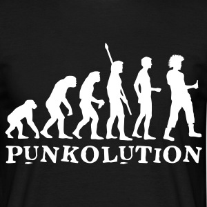 evolution_punk_b T-Shirts - Men's T-Shirt