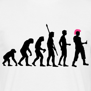 evolution_punk_2c T-Shirts - Men's T-Shirt