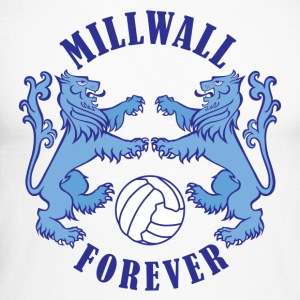 True Blue Millwall Forever - Men's Long Sleeve Baseball T-Shirt