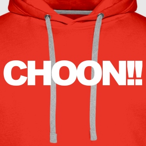 Rouge Choon Sweatshirts - Sweat-shirt à capuche Premium pour hommes
