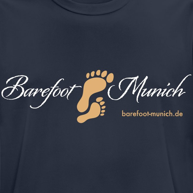 Männer T-Shirt Blue AIR - Barefoot Munich