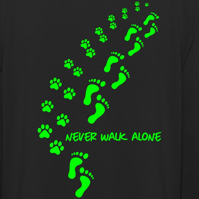 Unisex Hoodie - never walk alone