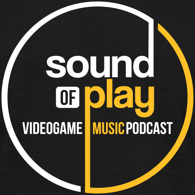 Black Sound of Play round logo