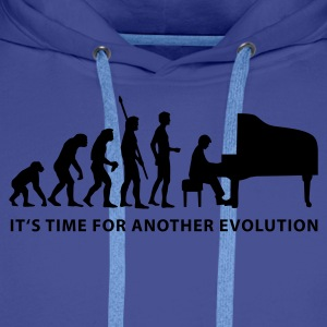 evolution_pianist_b Gensere - Premium hettegenser for menn