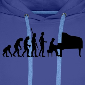 evolution_pianist Gensere - Premium hettegenser for menn