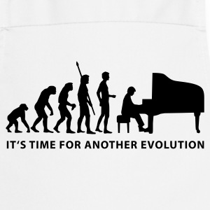 evolution_pianist_b  Aprons - Cooking Apron