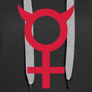 devil_woman Hoodies & Sweatshirts - Women's Premium Hoodie