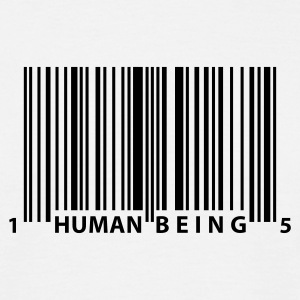 barcode_human_being Tee shirts - T-shirt Homme