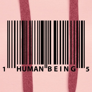 barcode_human_being Hoodies & Sweatshirts - Women's Premium Hoodie