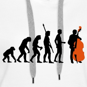 evolution_bass_2c Hoodies & Sweatshirts - Women's Premium Hoodie
