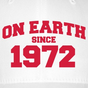 White onearth1972 Caps & Hats - Flexfit Baseball Cap