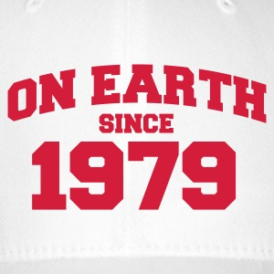 White onearth1979 Caps & Hats - Flexfit Baseball Cap