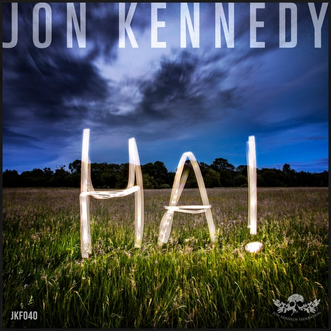 "Jon Kennedy - ""HA!"" LP cover"